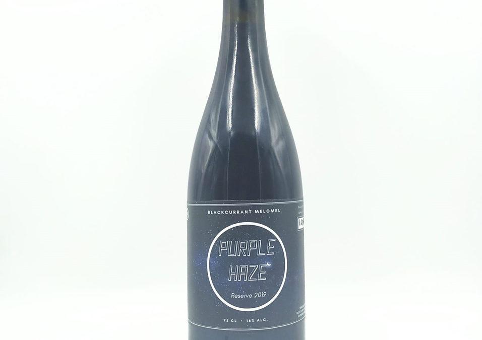 Purple Haze Blackcurrant, nuestra hidromiel de grosella negra